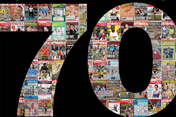 Athletics Weekly 70th anniversary issue (Athletics Weekly)