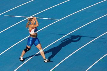 Russian javelin thrower Mariya Abakumova (Getty Images)
