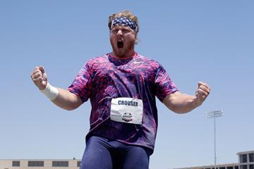 Ryan Crouser after winning the shot put at the US Championships (Getty Images)