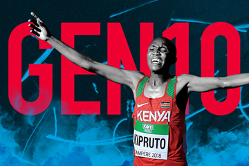 Gen 10: Kenyan distance runner Rhonex Kipruto (Getty Images)