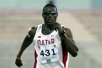 Qatar's Samuel Francis becomes Asian Championships 100m champion (AFP / Getty Images)