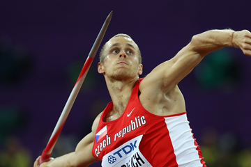 Jakub Vadlejch in the javelin at the IAAF World Championships London 2017 (Getty Images)