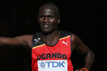 Ugandan distance runner Stephen Kiprotich (AFP / Getty Images)