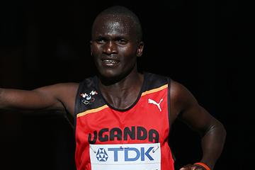 Ugandan distance runner Stephen Kiprotich (AFP / Getty Images)