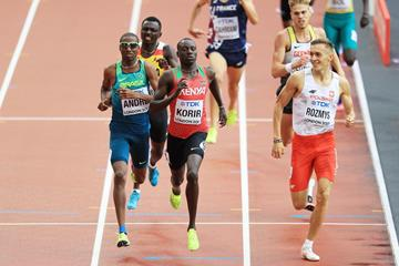 Emmanuel Korir at the IAAF World Championships London 2017 (Getty Images)