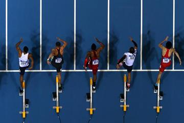 Sprinters in action (Getty Images)