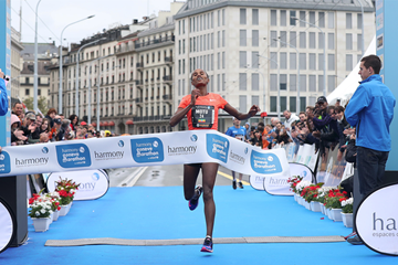 Motu Megersa wins the Harmony Geneva Marathon for Unicef (Organisers)