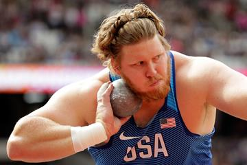Ryan Crouser in the shot put at the IAAF World Championships London 2017 (Getty Images)
