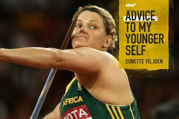 South African javelin thrower Sunette Viljoen (Getty Images)