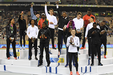 The 16 IAAF Diamond League winners crowned in Brussels (Gladys Chai von der Laage)