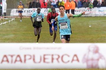 Ouassim Oumaiz wins at the Cross de Atapuerca (Organisers)