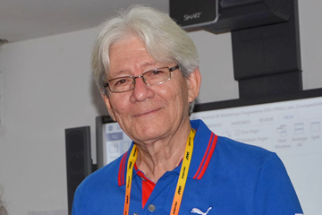 Cuban athletics journalist Enrique Montesinos ()