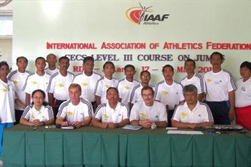 Group during the CECS Level III course at RDC Jakarta 2010 (IAAF)