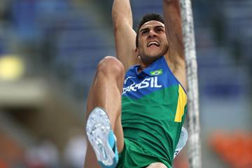 Brazilian pole vaulter Augusto de Oliveira (Getty Images)