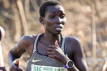 Kenyan runner Magdalyne Masai  (Victah Sailer)