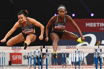 US sprint hurdler Jasmin Stowers (AFP / Getty Images)