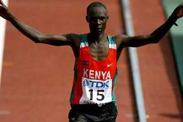 Luke Kibet becomes the first gold medallist in Osaka (Getty Images)