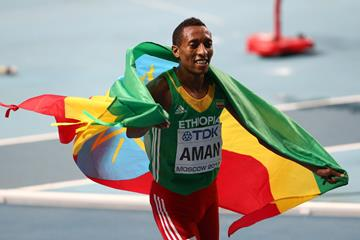 Mohammed Aman World 800m Champion ()
