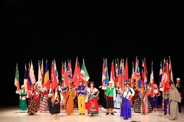 Presentation of the 44 countries competing at the IAAF World Race Walking Cup in Chihuahua (Getty Images)
