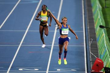 USA take gold in the 4x400m at the Rio 2016 Olympic Games (Getty Images)