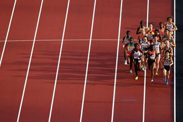 First heat of the women's 5000m at the IAAF World Championships London 2017 (Getty Images)