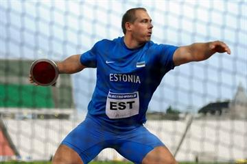 Gerd Kanter spins to victory in Budapest (Hasse Sjogren / DECA Text&Bild)