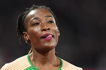 Ivorian sprinter Marie-Josee Ta Lou (AFP / Getty Images)