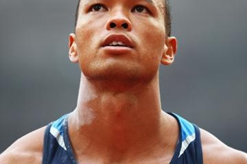 Bryan Clay leads the decathlon at the end of day one (Getty Images)