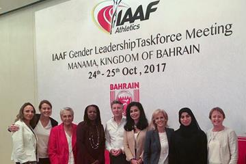 Participants at the IAAF Gender Leadership Taskforce Meeting in Bahrain (IAAF)