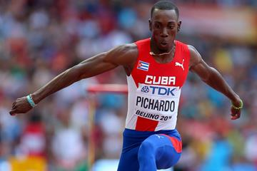 Pedro Pablo Pichardo in triple jump qualifying at the IAAF World Championships, Beijing 2015 (Getty Images)