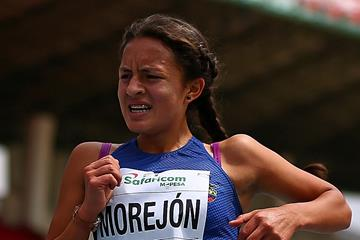 Ecuadorian race walker Glenda Morejon in action (Getty Images)