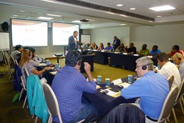The IAAF press chiefs seminar in Sao Paulo (IAAF)