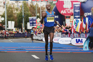 Barselius Kipyego wins the Usti nad Labem Half Marathon (Organisers)