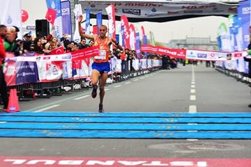 Amdework Walelegn clocks Turkish All-comers half marathon record in Istanbul (Organisers)