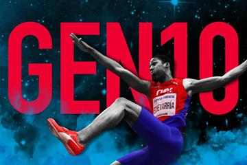 Gen Ten: Cuban long jumper Juan Miguel Echevarria (Getty Images)
