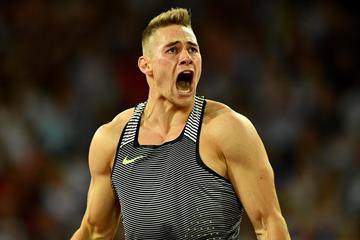 German javelin thrower Johannes Vetter (Getty)