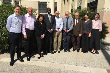 The IAAF Ethics Board and support staff ahead of its 2016 annual meeting (IAAF)
