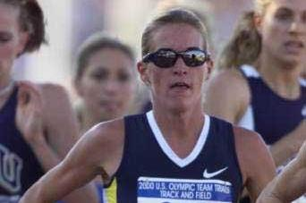 2000 US Olympic Trials: Suzy Favor-Hamilton (© Allsport)