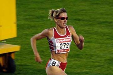Suzy Favor Hamilton in Madrid (IAAF)