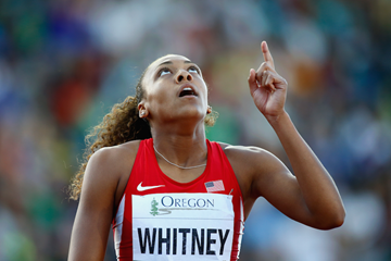 Kaylin Whitney World Juniors SPIKES ()