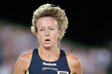 Deena Drossin at the 2000 US Olympic Trials (Getty Images)