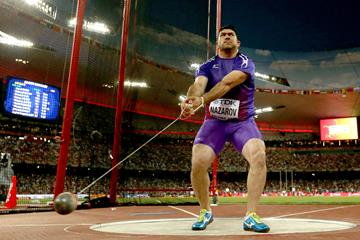 Dilshod Nazarov in the hammer at the IAAF World Championships Beijing 2015 (Getty Images)