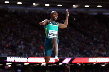 Luvo Manyonga in the long jump at the IAAF World Championships London 2017 (Getty Images)