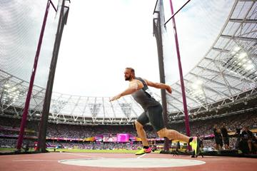 Robert Harting in the discus at the IAAF World Championships London 2017 (Getty Images)