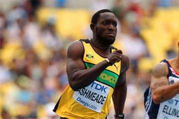 Jamaican sprinter Nickel Ashmeade (Getty images)