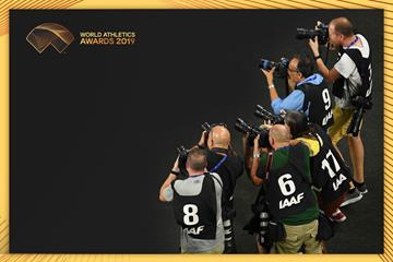Photographers at the IAAF World Athletics Championships (Getty Images)