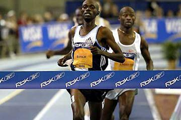 Laban Rotich beats Bernard Lagat to set Kenyan indoor Mile record in Boston (Coniglio/Sailer)