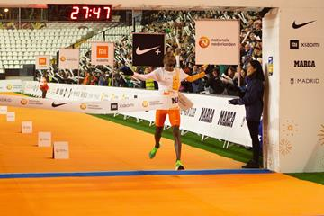 Bashir Abdi wins the San Silvestre Vallecana (Organisers)