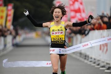 Yoshimi Ozaki impresses with a 2:23:56 victory in Yokohama (Yohei KAMIYAMA / Agence SHOT)