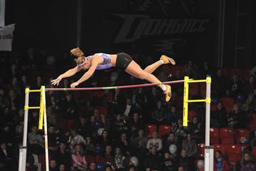 4.70m national record for Jirina Ptacnikova in Donetsk (Donetsk Organisers)